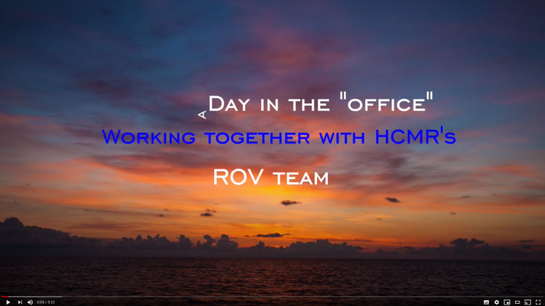 A day in the office – with an ROV team
