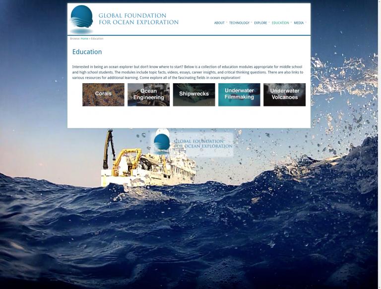Interested in Being an Ocean Explorer?