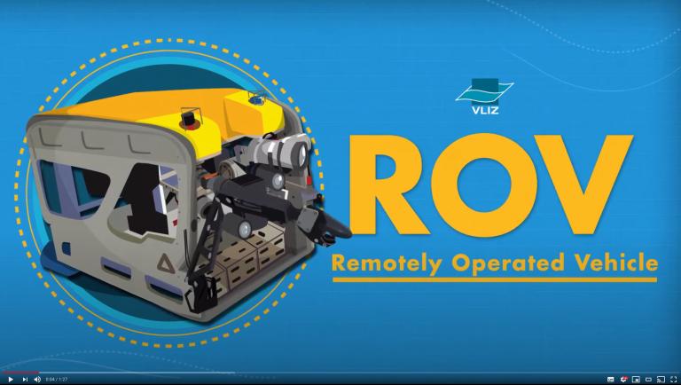 ROV Genesis, the underwater robot of Flanders Marine Institute