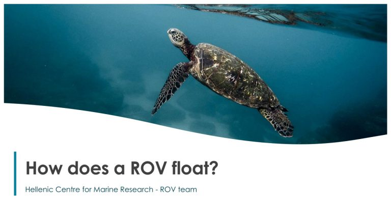 How does a ROV float?
