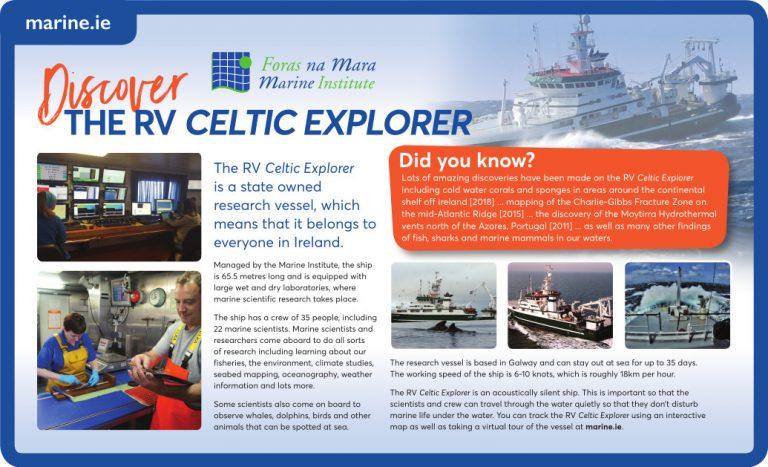 Discover the RV Celtic Explorer