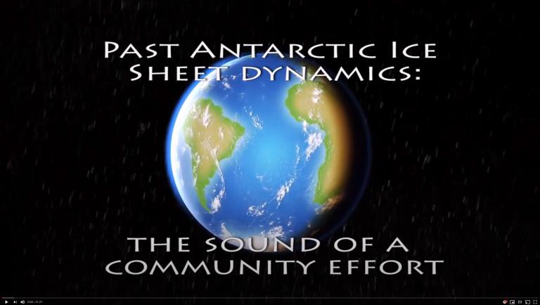 PAIS (Past Antarctic Ice Sheet)