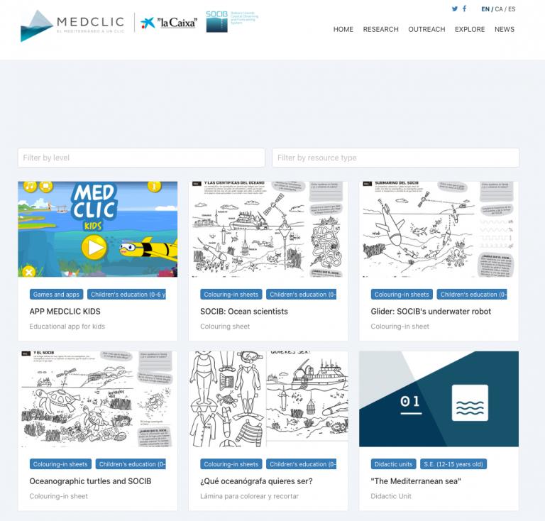 MEDCLIC Ocean Literacy resources