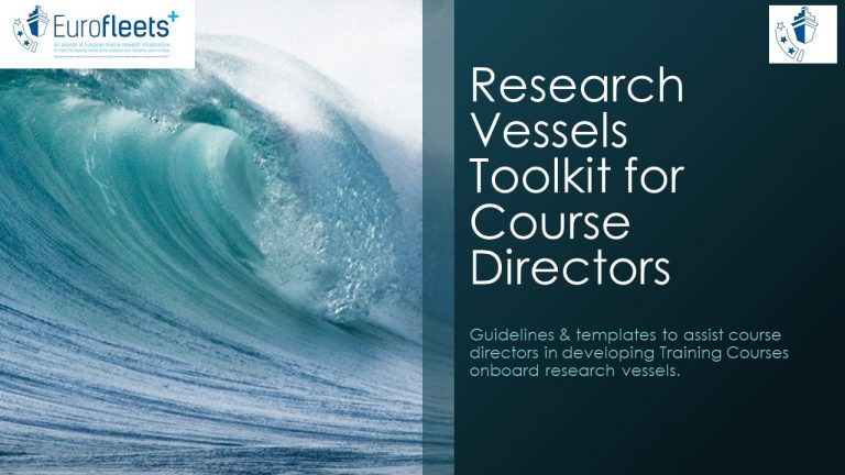 Research Vessels Training Toolkit for Course Directors