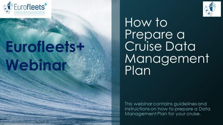 How to Prepare a Data Management Plan (DMP) Webinar